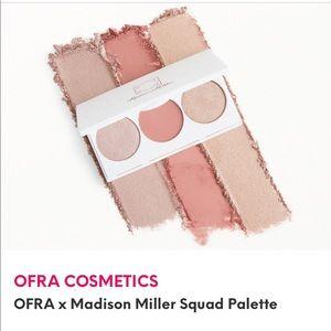 OFRA cosmetics Madison Miller Pallet